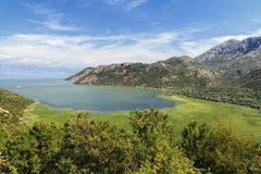 Shkadarsko lake. (Montenegro, Europe). Photo taken on: August 14th, 2012 Royalty Free Stock Photo