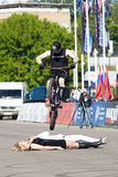 shkan stantman του Igor ποδηλάτων Στοκ φωτογραφία με δικαίωμα ελεύθερης χρήσης
