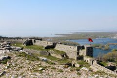 Shkoder阿尔巴尼亚 库存照片