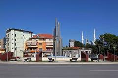 Shkoder Albania stock image