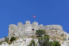 Shkoder fortress stock image