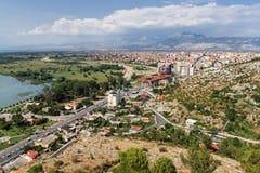 Shkoder - Albanien stockbild