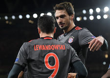 Mats Hummels. Football players pictured during UEFA Champions League Group Last 16 Round game between Arsenal FC and Bayern Munich on March 7, 2017 at Emirates Stock Photos