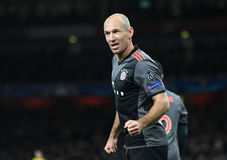 Arjen Robben. Football players pictured during UEFA Champions League Group Last 16 Round game between Arsenal FC and Bayern Munich on March 7, 2017 at Emirates Stock Images