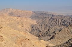 Shlomo Mountain Eilat Israel Images libres de droits