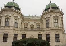 Shloss Belvedere building in Vienna Royalty Free Stock Photo