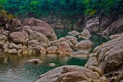 Shnongpdeng, τόπος προορισμού τουριστών, Meghalaya, Ινδία Στοκ φωτογραφίες με δικαίωμα ελεύθερης χρήσης