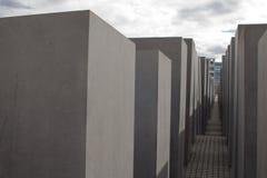 Shoa纪念碑柏林 库存照片