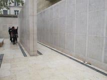 Shoah纪念品在巴黎7858,法国, 2012年 免版税库存图片