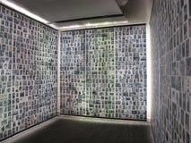 Shoah纪念品在巴黎7966,法国, 2012年 图库摄影