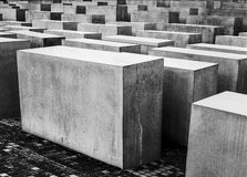 Shoah Memorial In Berlin Royalty Free Stock Photo