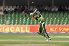 Shoaib Malik Royalty Free Stock Photo