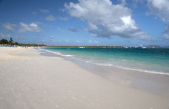 Shoal Bay, Anguilla island, Caribbean Royalty Free Stock Photo