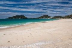 Shoal Bay Beach Royalty Free Stock Photography