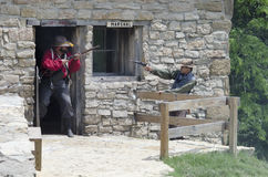 Shoal Creek lebendes Geschichtsmuseum Lizenzfreie Stockfotos