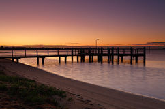 Shoalhaven river at dawn Stock Photos