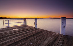 Shoalhaven river dawn Stock Image