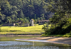 Shoalhaven River scene Royalty Free Stock Images