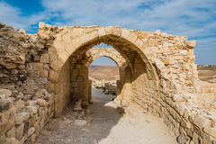 Shobak crusader castle fortress Jordan Stock Images