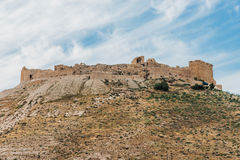 Shobak crusader castle fortress Jordan Stock Photo
