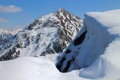 Shober peak from Gasselhohe, Reiteralm Royalty Free Stock Image