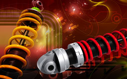 Shock Absorber Stock Image