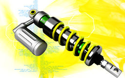 Shock Absorber Royalty Free Stock Photos
