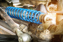 Free Shock Absorber And Car Suspension Of A Car Stock Photography - 97935492