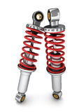 Shock absorber car Stock Images