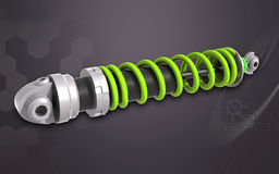 Shock Absorber Royalty Free Stock Images