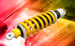 Shock absorber Royalty Free Stock Photography