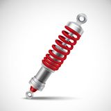 Shock Absorber Realistic Stock Images