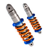Shock absorber. For sports car Stock Image