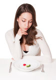Shock diet. Stock Photography