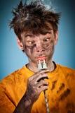 Shock elettrico Fotografia Stock Libera da Diritti