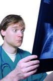 Shock over x ray Stock Photos