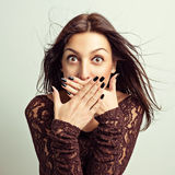 Shock. Royalty Free Stock Images