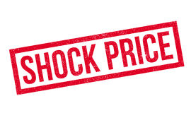 Shock Price rubber stamp Royalty Free Stock Images