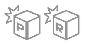 Shock resistance icon . vector royalty free illustration