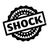 Shock rubber stamp. Grunge design with dust scratches. Effects can be easily removed for a clean, crisp look. Color is easily changed Royalty Free Stock Photos