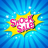 Shock Sale. Stock Photos
