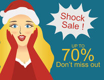 Shock sale Royalty Free Stock Photos