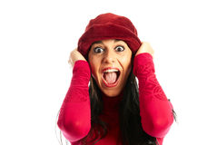 Shock - surprise Royalty Free Stock Images