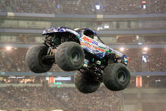 Shock Therapy Monster Jam 2011. The Shock Therapy AMSOIL truck in the January 2011 Toronto Ontario Monster Jam. Truck driven by Jon Zimmer Stock Photos