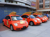 Shock Top Beer Volkswagens Stock Image