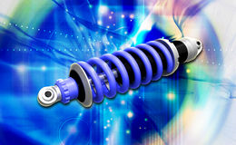 Shockabsorber Royalty Free Stock Image