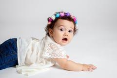 Shocked and Amazed Baby Stock Photos