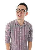 Shocked Asian guy Royalty Free Stock Images