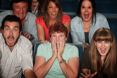 Shocked Audience Royalty Free Stock Images