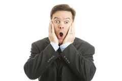 Shocked Businessman Stock Image